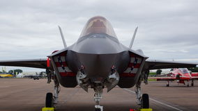 F35 Lightening Royalty Free Stock Images