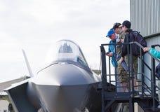 F-35 Lightning dummy Stock Images