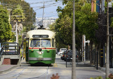 F-Line Streetcar Stock Image