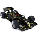 F1 Lotus 97T Royalty-vrije Stock Foto's