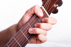 F major chord Royalty Free Stock Photos