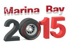 F1 Marina Bay Race 2015. Concept Stock Image