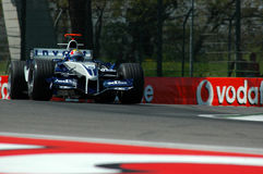 F1 2005 - Mark Webber. BMW Williams during GP of Imola Year 2005 Stock Images