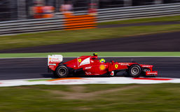 F. Massa in Monza 2012 practice day. Royalty Free Stock Image