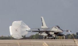 F-16A MLU do FACH na operação Cruzex imagens de stock