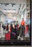 f Mode shoppar på centrala Rama 9, Bangkok, Thailand, April 30, 201 Fotografering för Bildbyråer