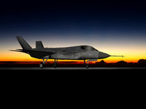 F-35 modern stealth fighter Royalty Free Stock Images