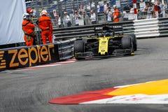 F1, 2019, Monaco GP, FP2 stockfotografie
