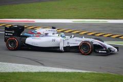 2014 F1 Monza Ουίλιαμς FW36 - Felipe Massa Στοκ Εικόνες