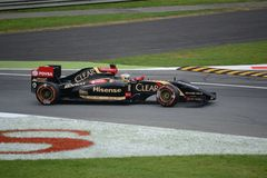 2014 F1 Monza Lotus E22 - Charles Pic Royalty Free Stock Images