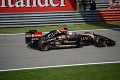 2014 F1 Monza Lotus E22 - Romain Grosjean Royalty Free Stock Photos