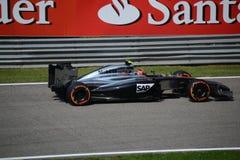 2014 F1 Monza McLaren MP4-29 - Kevin Magnussen Images libres de droits