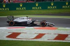 2014 F1 Monza McLaren MP4-29 Kevin Magnussen Image stock