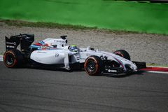 2014 F1 Monza Williams FW36 - Felipe Massa Imagem de Stock Royalty Free