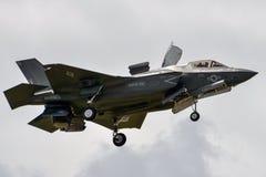 F-35 mooie loseup Royalty-vrije Stock Foto's