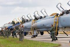 F-4 niemiec Zdjęcie Royalty Free