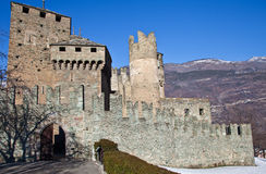 F�nis castle Stock Photo