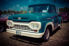 F-100 normal de Ford de camion pick-up Photographie stock