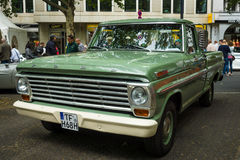 F-100 normal de Ford de camion pick-up (cinquième génération), 1968 Photo stock