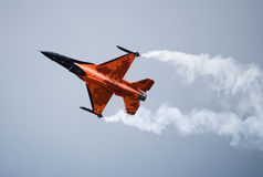 F16 Orange Jumper Stock Images