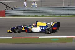 F1 obrazek: Formuła 1 Jeden samochód wyścigowy - Akcyjna fotografia Zdjęcia Stock