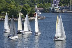 ÅF Offshore Race 2015 Royalty Free Stock Image