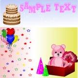 födelsedaggarneringgåvor Royaltyfria Bilder