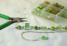 för lampworkmurano för rotting glass halsband Royaltyfri Foto