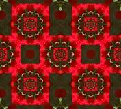 för leavesmodell för jul steg geometriska petals Arkivfoto