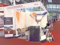 för resurssky för co ltd sol- teknologi Arkivfoto
