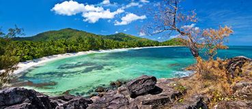 förbluffa seychelles Royaltyfria Bilder