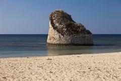 fördärvar havet omgivna tornet Arkivbilder