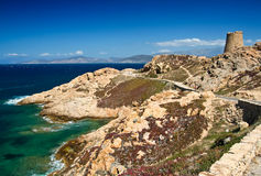 fördärvar havskusten Royaltyfri Bild