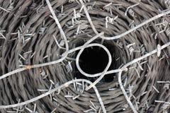 förse med en hulling rulletråd Arkivbilder