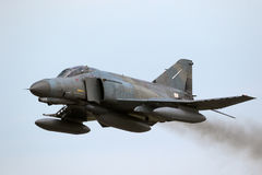 F-4 Phantom fighter plane Stock Photography