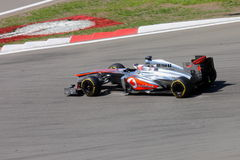 F1 Photo - Formula 1 Car McLaren : Jenson Button Stock Image