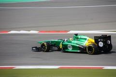 F1 Photo : Formula 1 Caterham cars - Stock Photos stock photography