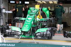 F1 Photo : Formula 1 Caterham race car Stock Photos