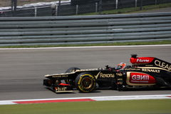 F1 Photo - Formula One Lotus Car : Kimi Raikkonen stock photo