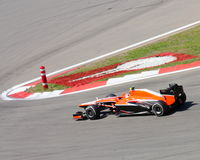 F1 Photo - Formula One Marussia Car : Stock Photos Royalty Free Stock Photos