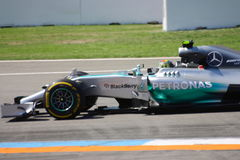 F1 Photo Formula One Mercedes Car : Nico Rosberg Stock Photo