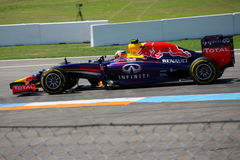 F1 photo - voiture de Red Bull de Formule 1 : Daniel Ricciardo Photo stock