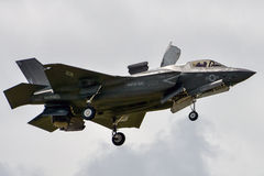 F-35 Piękny loseup zdjęcia royalty free