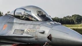 F-16 portugués Fotos de archivo libres de regalías