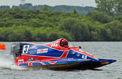 F4 powerboat Stock Photos