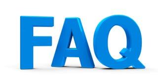 f a Q icona Fotografia Stock