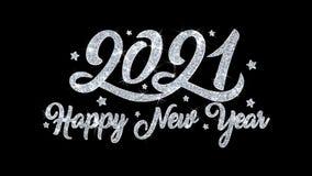 2021 f?r blinkatext f?r lyckligt nytt ?r h?lsningar f?r partiklar f?r ?nska, inbjudan, ber?mbakgrund