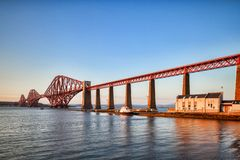 f?r bro st?ng scotland fram?t royaltyfri bild