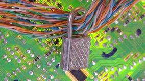 f?r illustrationbildsk?rm f?r dator 3d s?kerhet