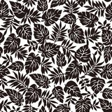 F?r illustrationmodell f?r tropisk v?xt material, stock illustrationer